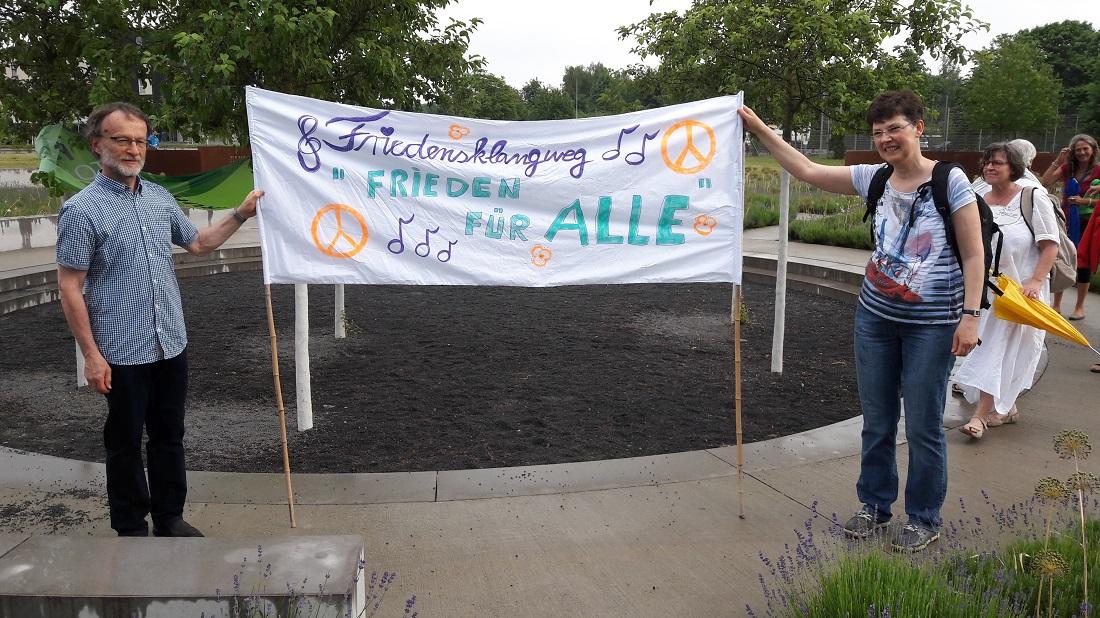 Friedensklangweg Banner