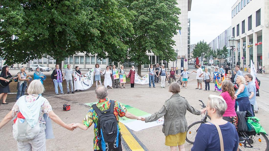 Friedensklangweg Friedrichsplatz