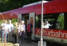 Die Kulturbahn brachte uns von Maulbronn West in die Stadt.